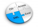 Kendata can export your data in a format of your choice such as CSV, XML, Access, Excel or SPSS